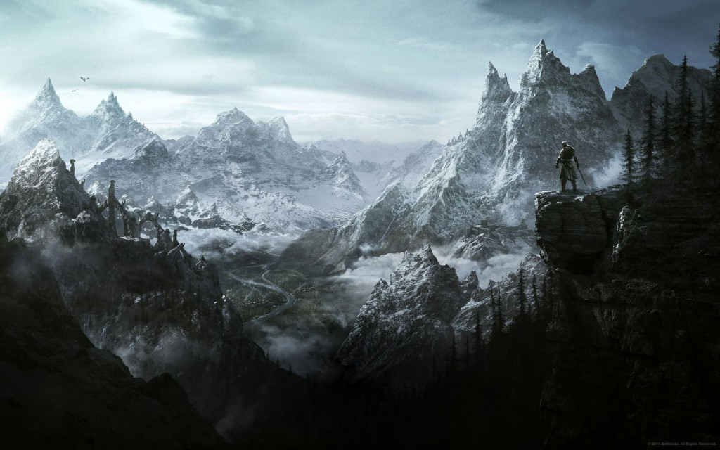 skyrim wallpaper innerspace polyknightgames leveldesign playerchocie