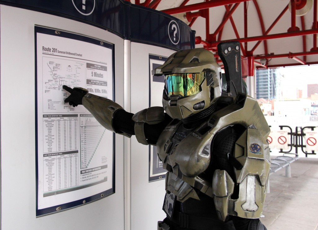 master chief halo marketing video game business innerspace polyknight games kickstarter